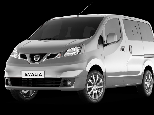 Car Rental Nissan Evalia 1.5d ( 7 seats)